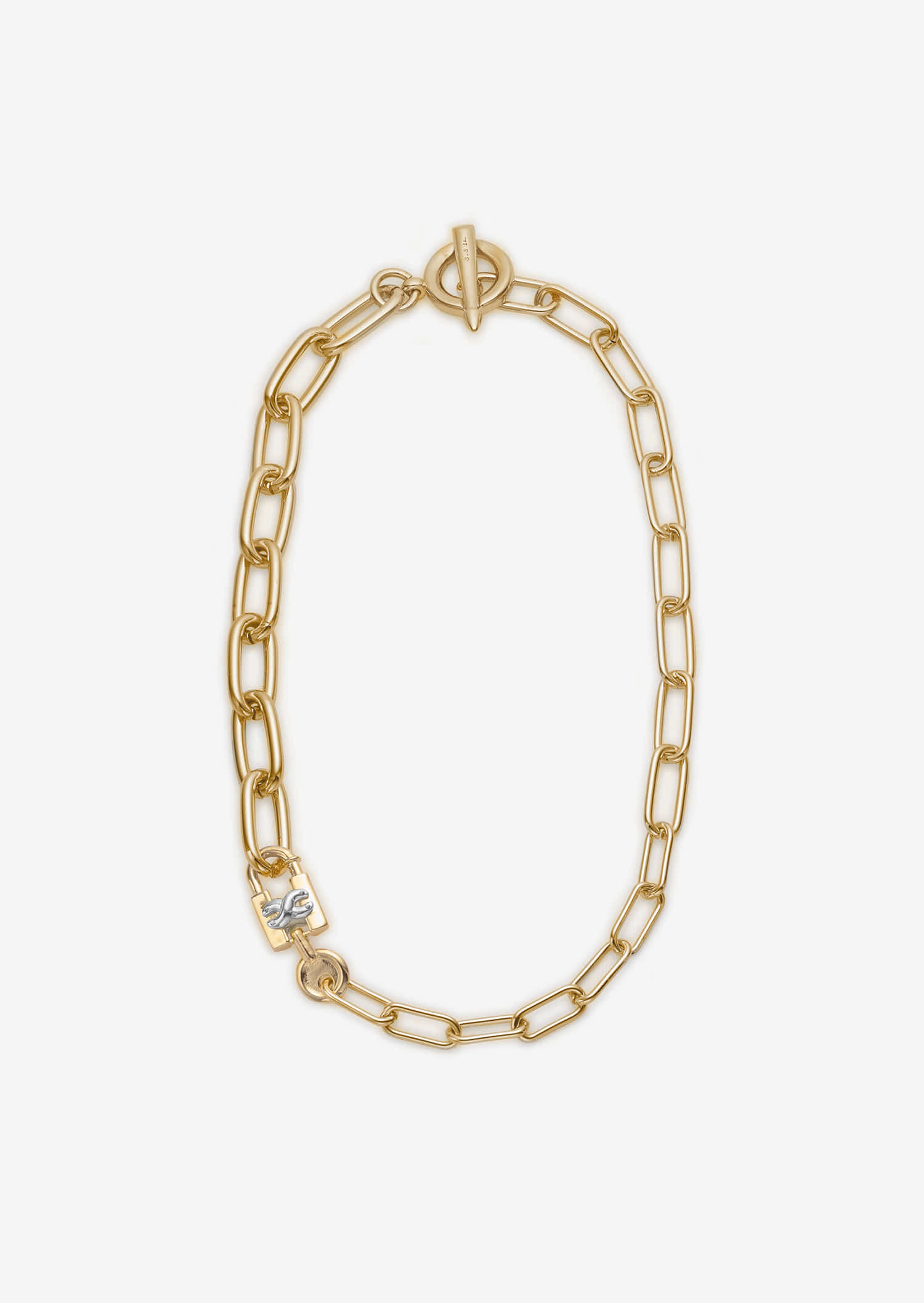 Lock Choker _ Gold
